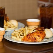Swiss Chalet Coupons: 2 Quarter Chicken Dinners for $18 or 2 Quarter Chicken Dinners, 1 App + 1 Dessert for $22 (Dine-in Only)
