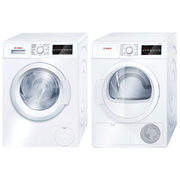 Bosch 2.2 Cu. Ft. High Efficiency Front Load Washer & 4.0 Cu. Ft. Electric Dryer - $2199.98
