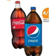 Pepsi Or Coke Products - 4/$5.00