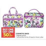 Cosmetics Bags - BOGO 50% off