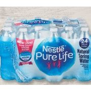 Nestle Pure Life Natural Spring Water - $2.49