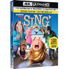 Sing (4K Ultra HD) (Blu-ray) (2016) - $19.99 ($5.00 off)
