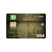 TD® US Dollar Visa* Card: Make Purchases in U.S. Dollars Without Credit Card Foreign Currency Conversion Fees