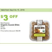 Best Express Organic Aussie Bites - $9.99 ($3.00 off)