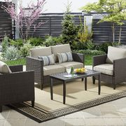 Walmart Outdoor Living Clearance Deals: Hometrends Arya 4-Pc. Conversation Set $468, Backyard Grill 4-Burner BBQ $179 + More