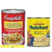 Campbell's Ready to Eat or Habitant Soup - 2/$5.00