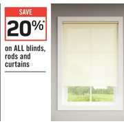 All Blinds Rods And Curtains - 20% off