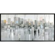 63'' X 33'' Framed Canvas Art - $229.00