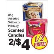 Skittles Or Pillsbury Scented Candles - 2/$4.00 (50% off)