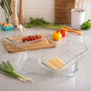 Kitchen Stuff Plus Red Hot Deals: Libbey Glass Bakeware Set $10, KSP Softstor Fabric Shoe Rack $10 + More!