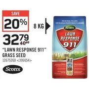 "Scotts ""Lawn Response 911"" Grass Seed - $32.79 (20% off)"