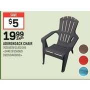 Adirondack Chair - $19.99 ($5.00 off)