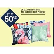All Patio Cushions and Outdoor Toss Pillows - BOGO 50% off