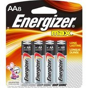 Energizer 8-Pack Max AA Batteries  - $4.99