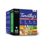 Timothy's K-Cups  - $12.88 ($6.09 off)