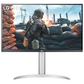 """LG UltraFind 27"""" 4K Ultra HD 60Hz 5ms GTG IPS LED FreeSync Gaming Monitor (27UP650-W) - White"""