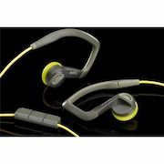 AKG K326 - High Performance Sports In-Ear Headset (Yellow) - $39.99 (33% off)
